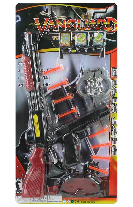 Polizeikarte mit Zubebör ca 68 x 36 cm