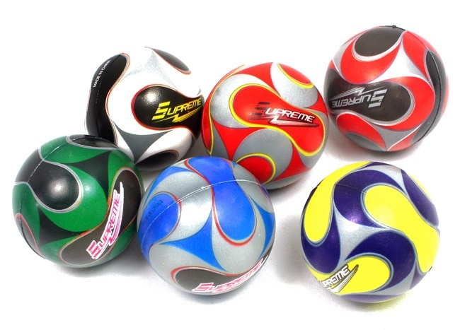 Soft Fußball 6-fach farbig sortiert - ca 6cm