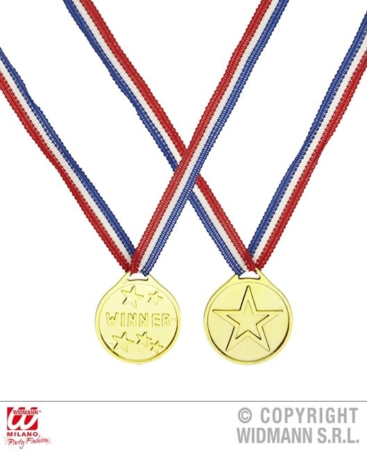 Medaille Siegermedaille Winner ca 3,5cm