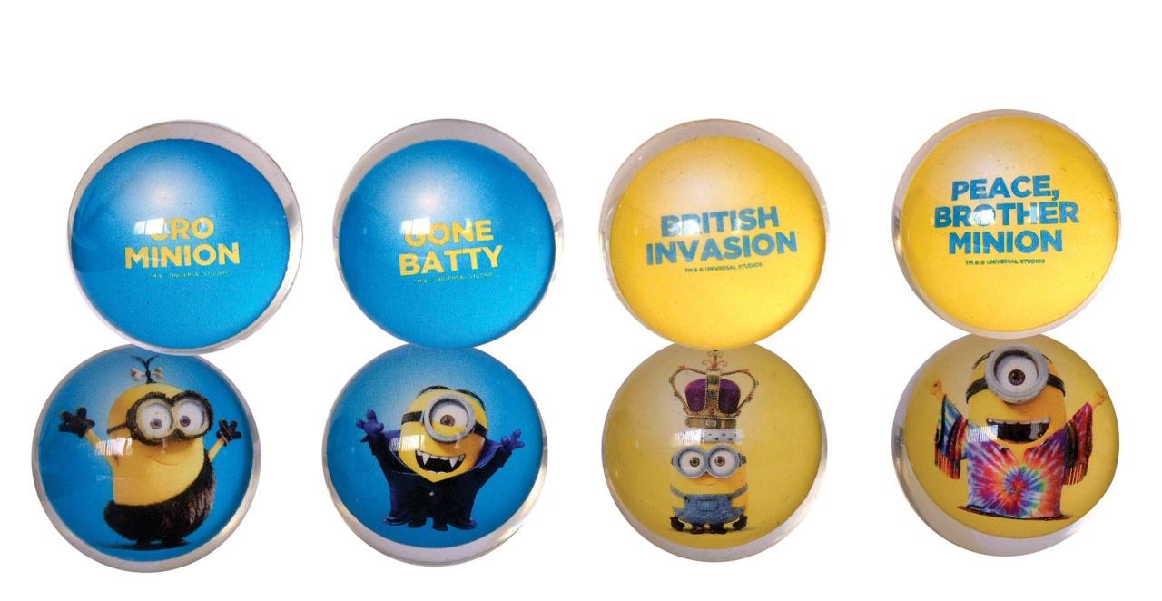 Minions Flummi Dopsball ca 27 mm