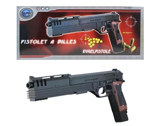 Kugelpistole max 0,50 J ca 38 cm