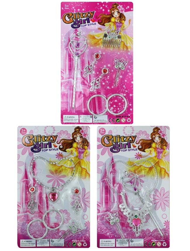 Schmuckkarte 3 fach sortiert ca 35 x 21 cm