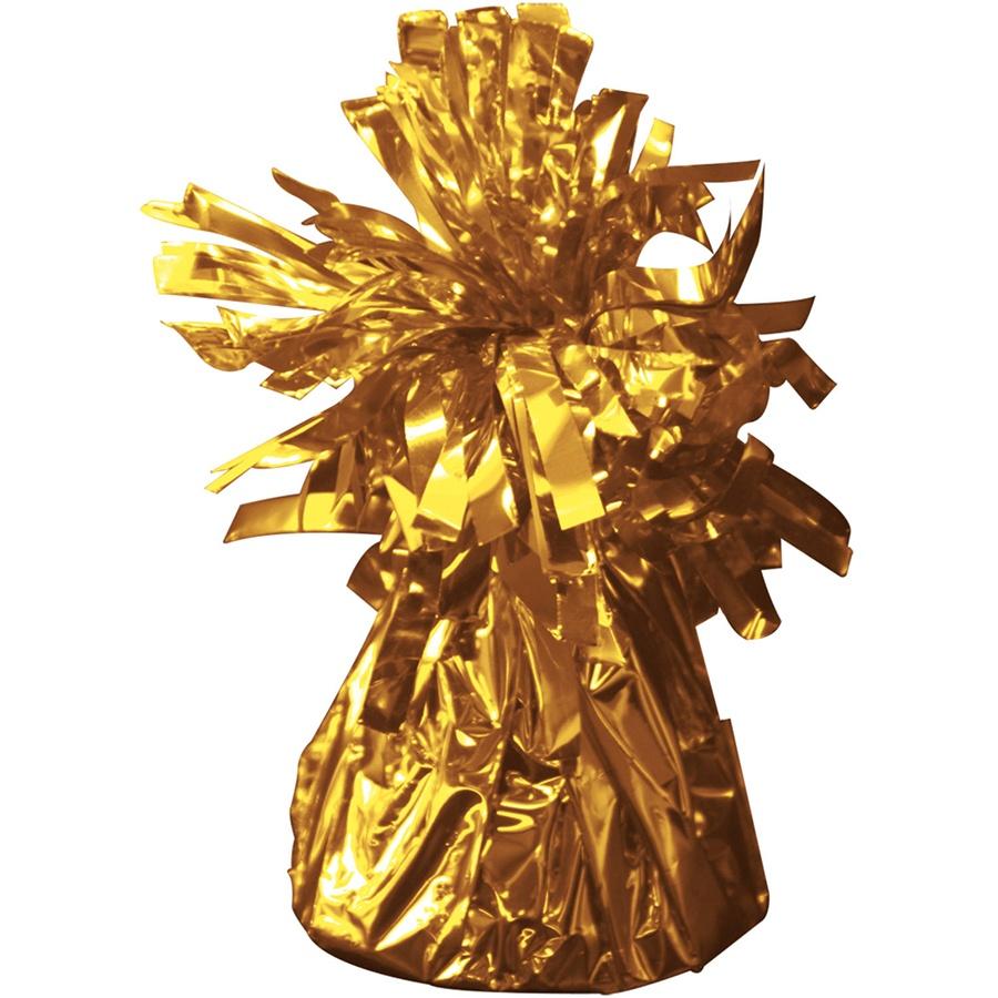 Ballongewicht in Folie gold ca 145-170 g