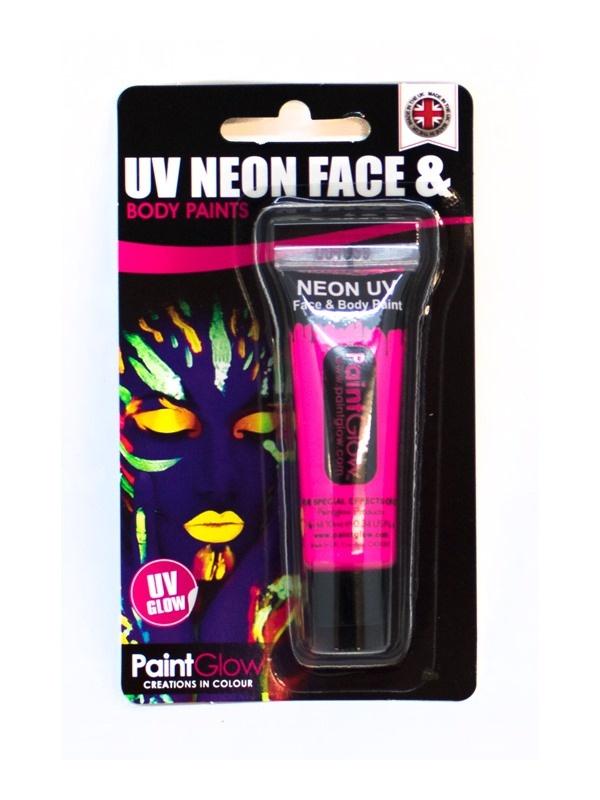 UV Gesicht & Körper Farbe pink ca 10 ml