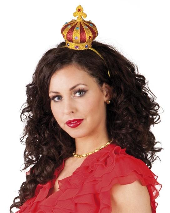 Haarreif mit Krone