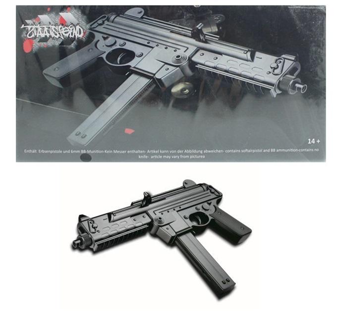 Kugelgewehr mit Magazin und Muniton ca 33 cm