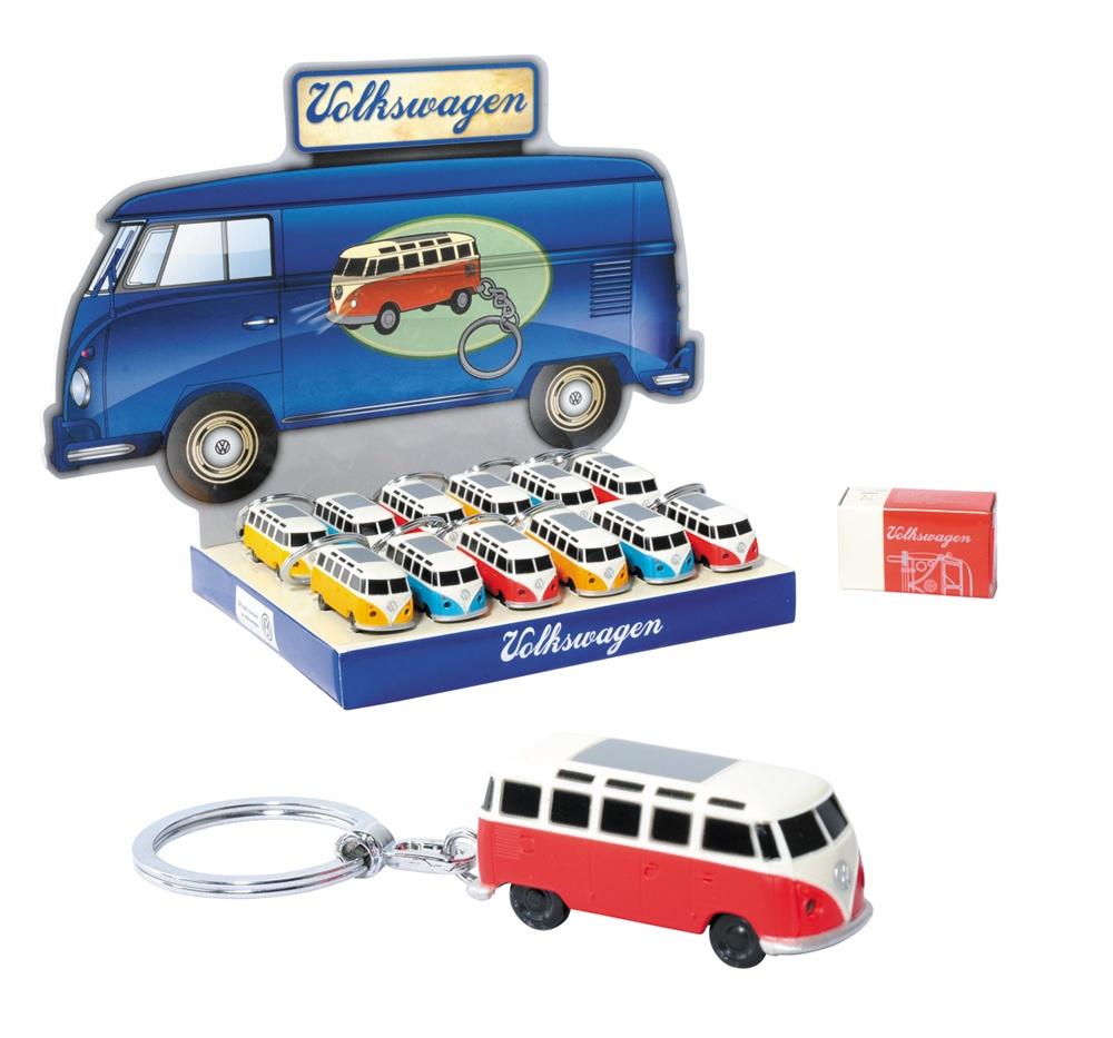 VW Bus mit Licht  an Schlüsselanhänger - ca 4,5cm lang