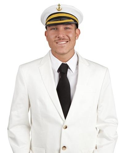 Hut - Mütze Marine Kapitän Nicholas