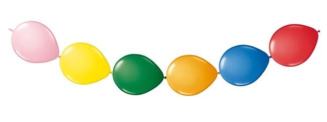 Ballongirlande bunt ca 300 cm