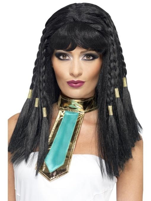 Perücke Cleopatra in Box ca 26x16x5cm