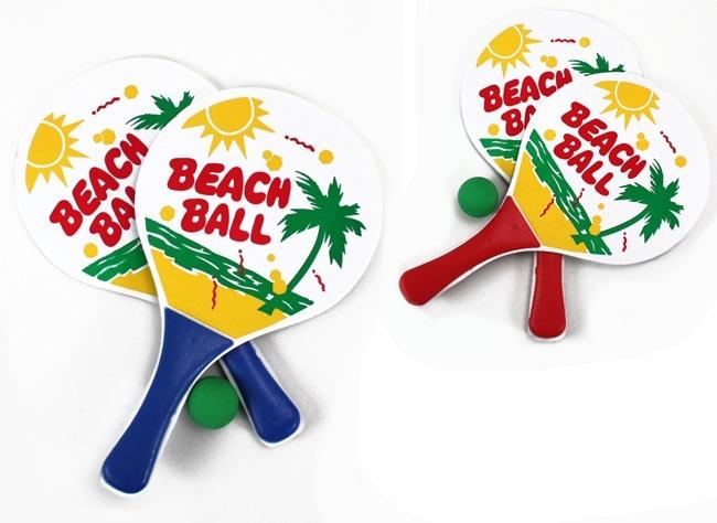 Beachballspiel 2-fach sortiert - ca 33x19cm