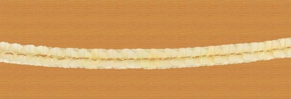 Girlande - Chenille champagner 2 Stk - je ca 3m
