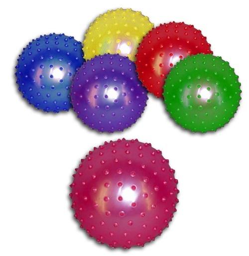 Stachelball  Massageball ca 20 cm farbig sortiert
