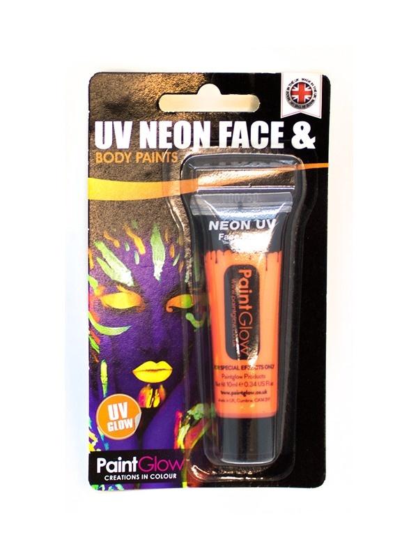 UV Gesicht & Körper Farbe orange ca 10 ml