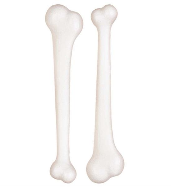 Knochen - weiß ca 23cm