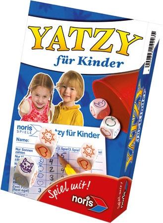 NORIS Spiel Yatzy Kinder Reisespiel in Box ca 18x11,5x4cm