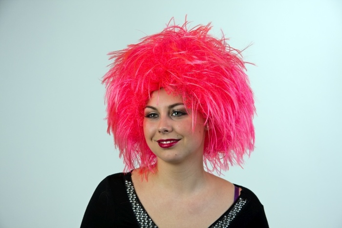 Perücke Nina, pink