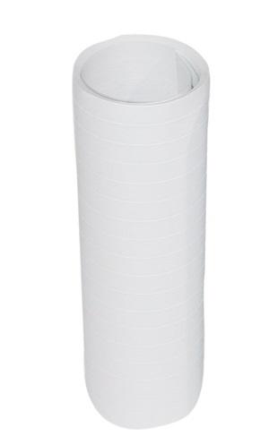 Luftschlangen weiß - 4 m