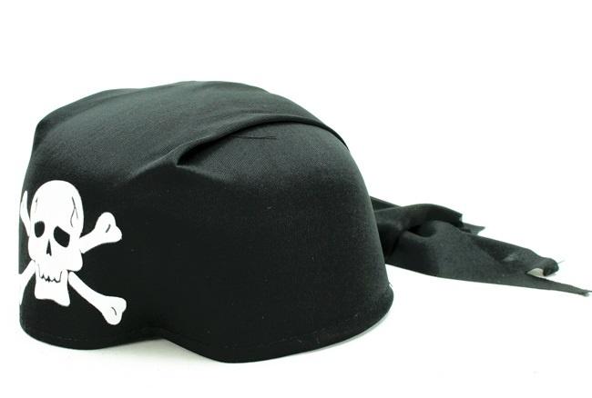 Hut Bandana Pirat Totenkopfmotiv