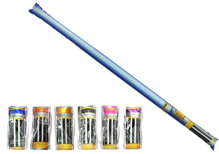 Schwert selbstaufblasend 6-fach sortiert - ca 70cm
