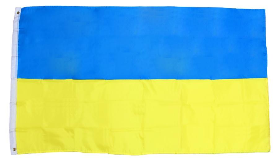 Flagge Fahne Ukraine ca 90x150 cm