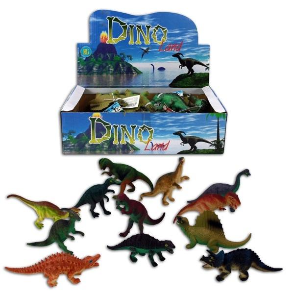 Dinosaurier ca 14 cm - 12 fach  sortiert