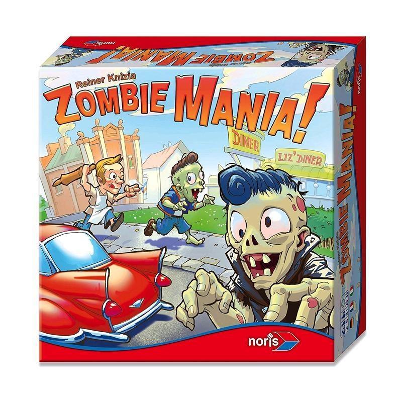 NORIS Spiel Zombie Mania! in Box ca 25x25x6,5cm