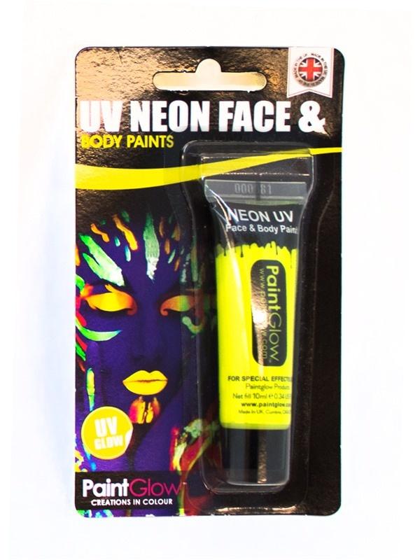 UV Gesicht & Körper Farbe gelb ca 10 ml