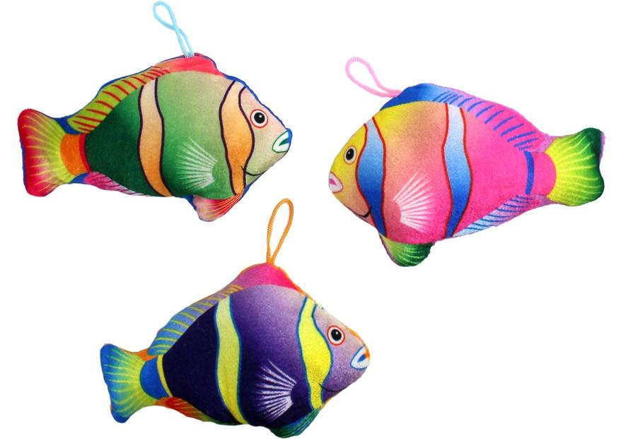 Fisch schillernde Farben ca 17 cm