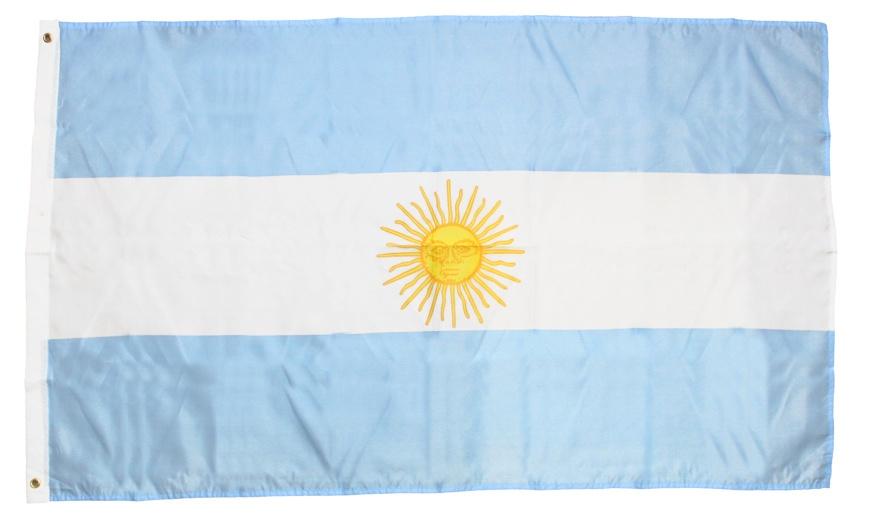Flagge Fahne Argentinien ca 150 x 90 cm
