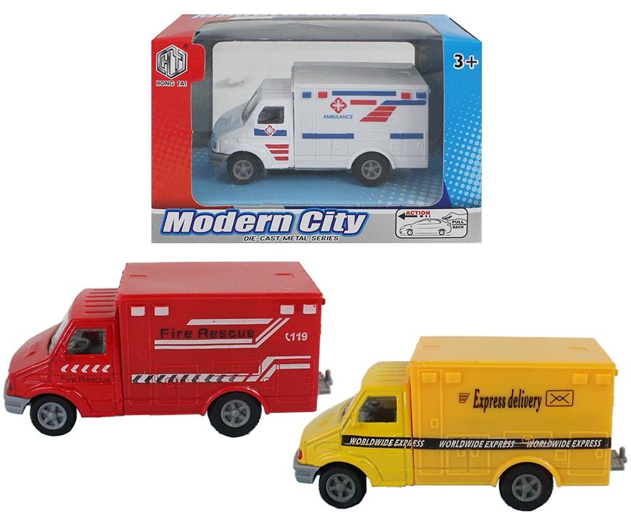 Fahrzeuge METALL 3-fach sortiert - ca 9 cm