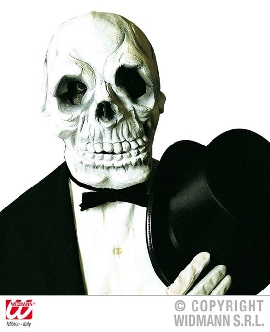 Maske - Totenkopf Skelett