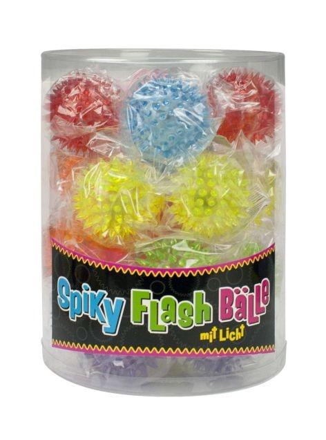 Spiky Flash Ball 7-fach sortiert - ca 45mm