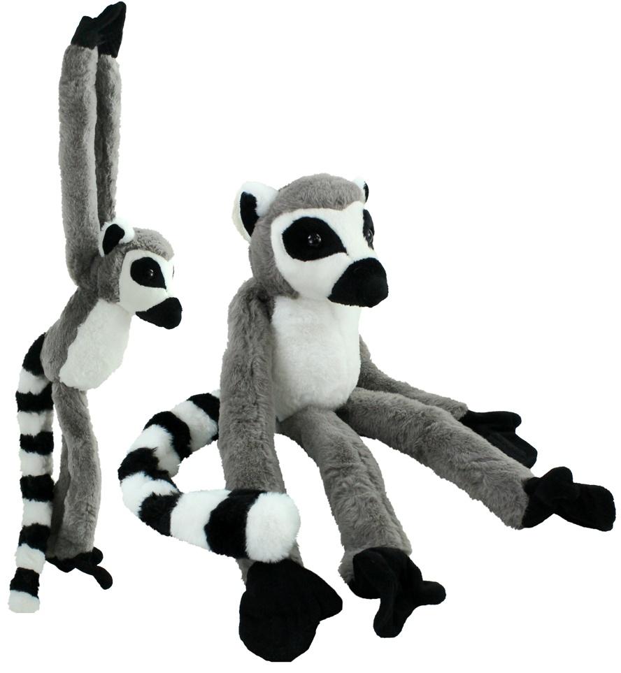 Affe Lemur hängend gesamt ca 85cm
