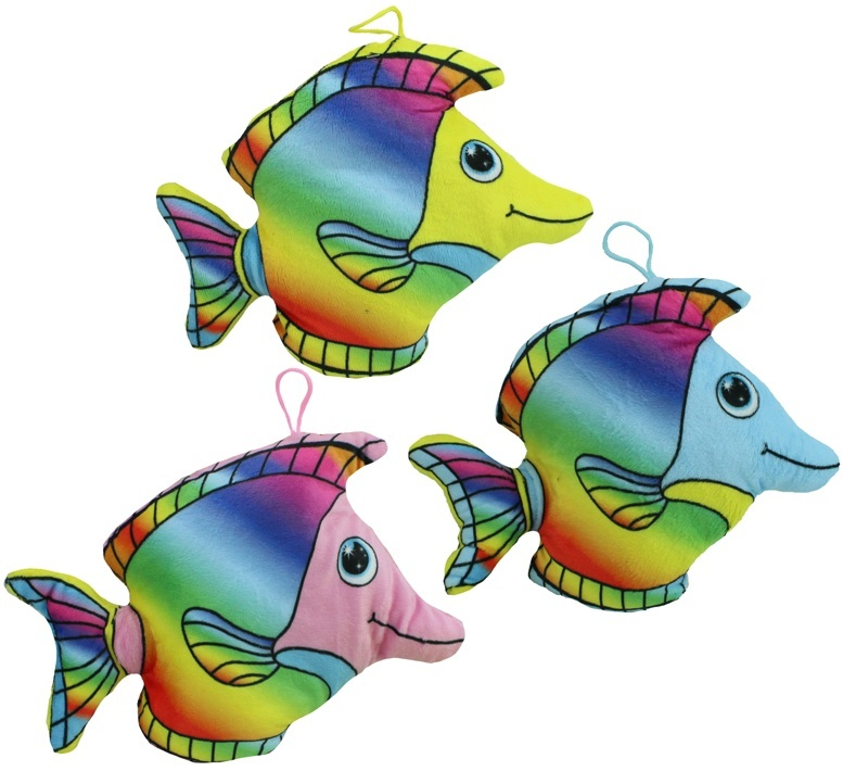 Neon Fisch 3-fach sortiert ca 25 cm