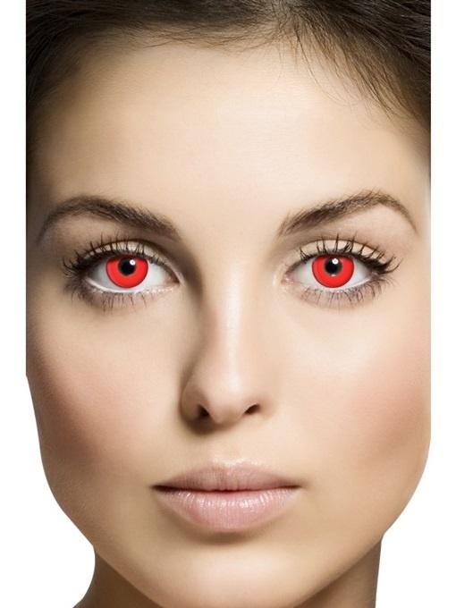 Kontaktlinsen Red Devil 1 Tages Linsen