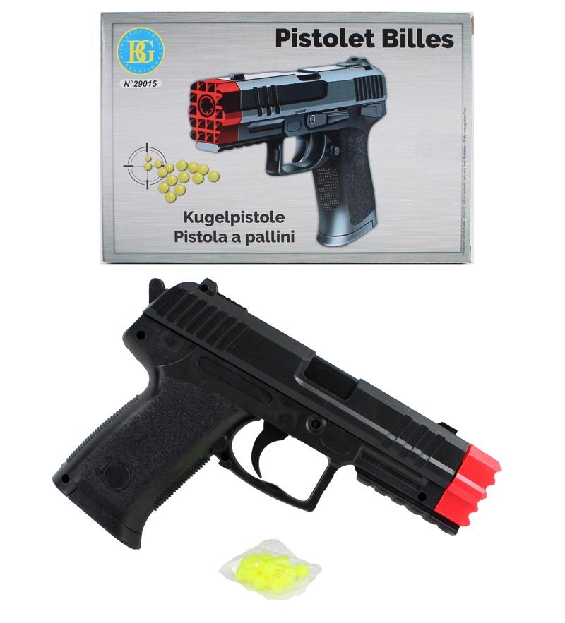 Pistole mit Magazin 0,08 Joule ca 19,5cm