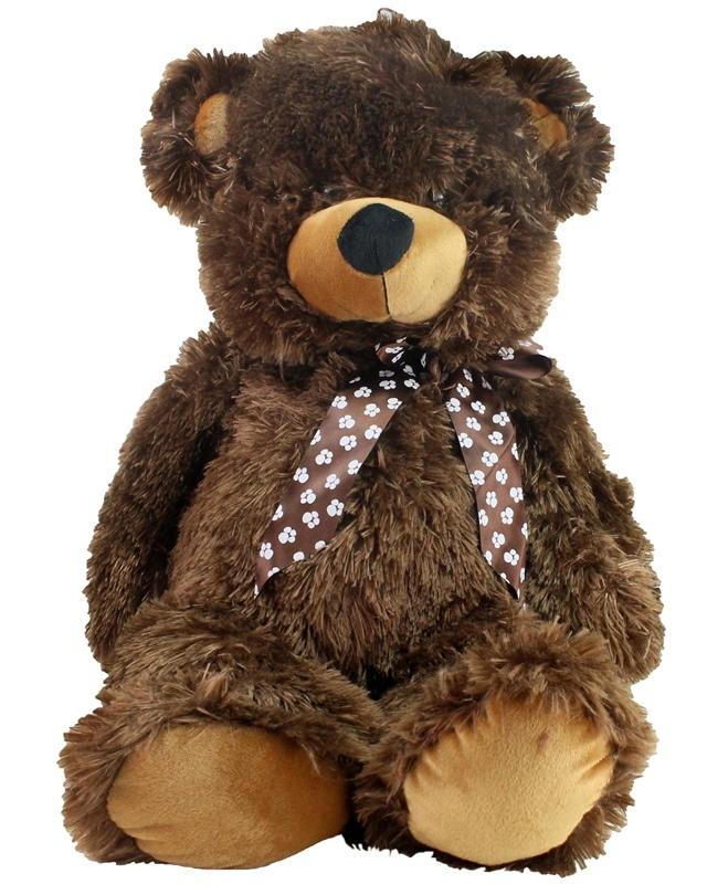Bär mit Schleife Gesamtlänge ca 95 cm