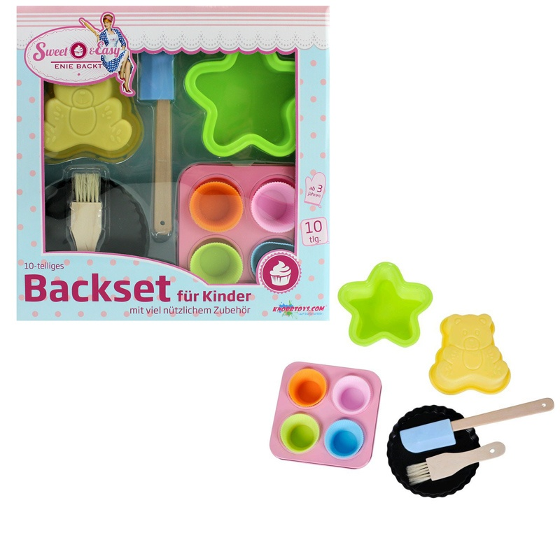 Sweet & Easy Enie backt - Silikon Backset für Kinder