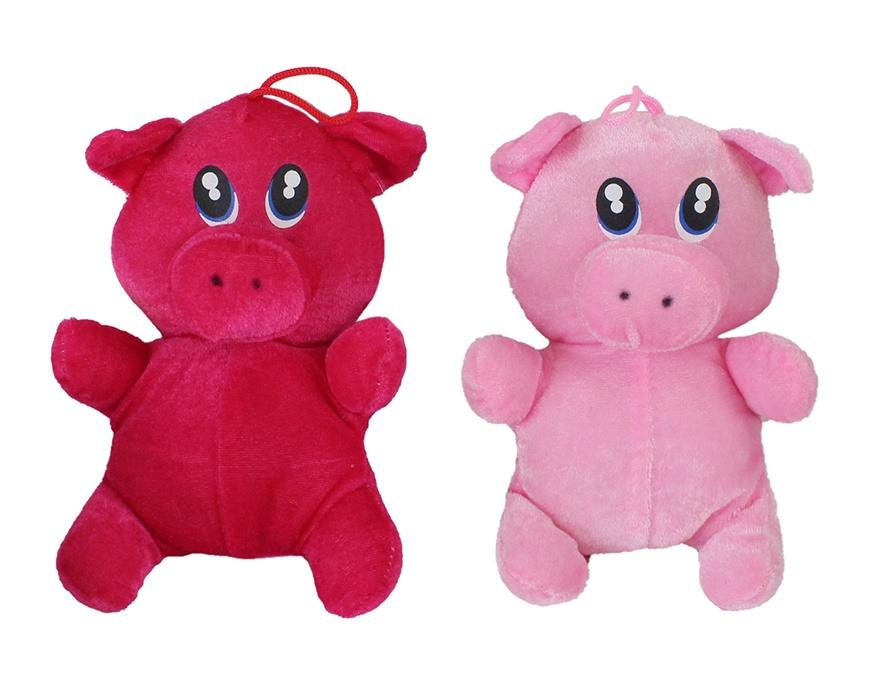Schwein 2-farbig sortiert ca 20cm