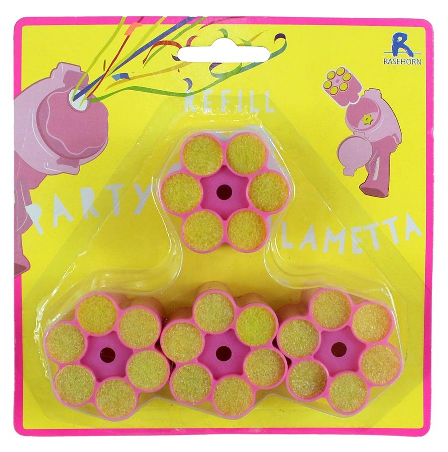 Lametta Munition pink 4 Patronen à 6 Schuss