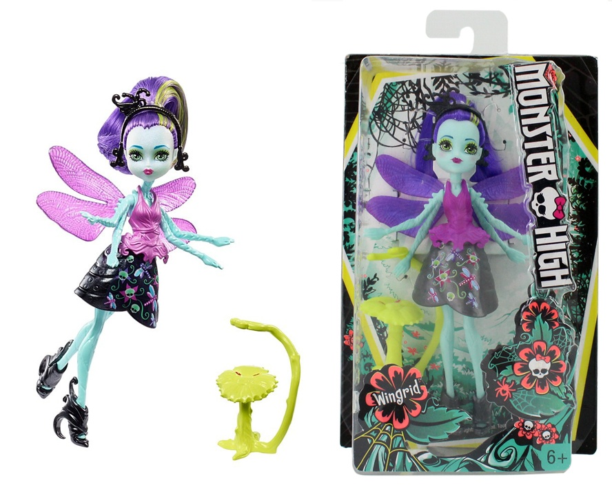 Monster High Puppe Wingrid FCV48