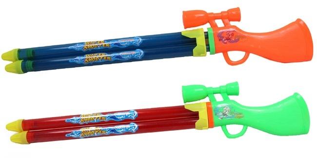 Wassergewehr 2-fach sortiert ca 62 cm