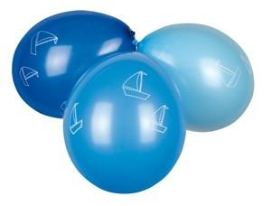 Ballons - Jungen 6 Stk - 3 Farben sort -Durchmesser ca 25cm