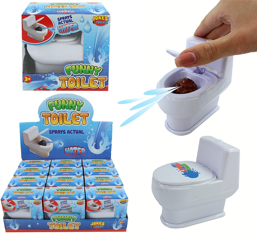 Wasserspritz-Toilette ca 9cm