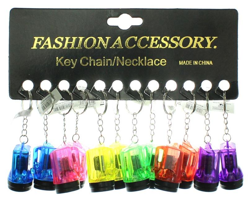 Taschenlampe an Schlüsselanhänger