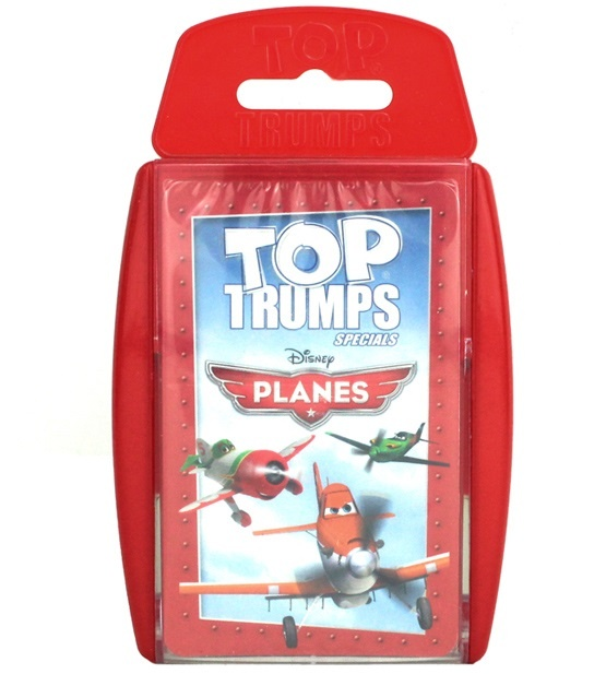 TopTrumps Disney Planes Quartett - in Box ca 14x8,5cm
