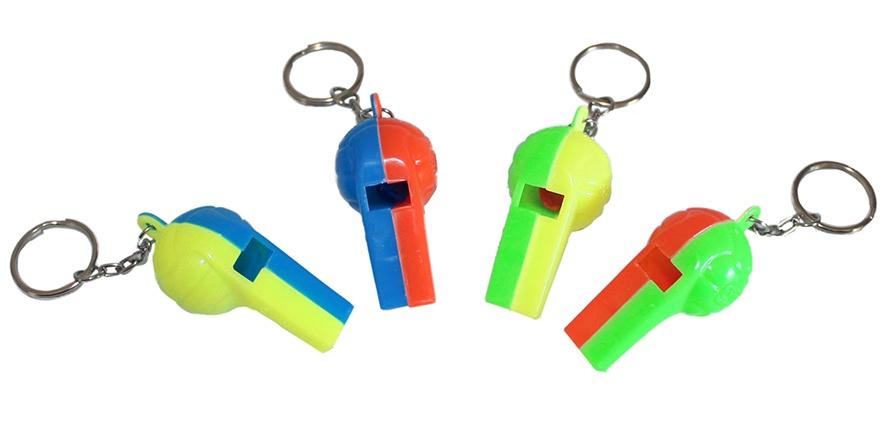 Fußballpfeifen an Schlüsselanhänger