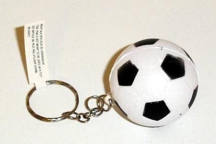 Fußball an Schlüsselkette ca 4 cm