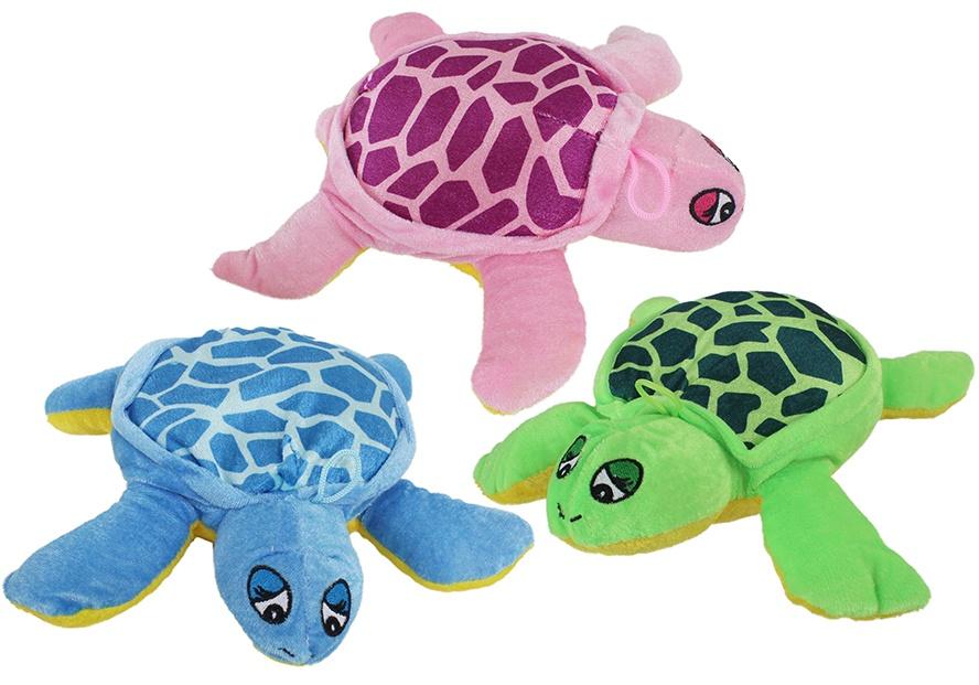 Plüsch Schildkröte 3-farbig sortiert ca 24 cm